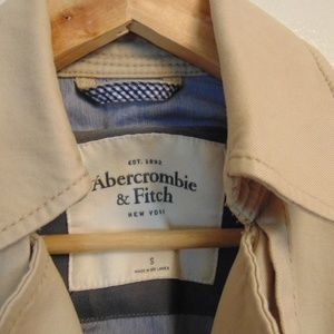 Abercrombie & Fitch Jackets & Coats - ABERCROMBIE Double Button Mini Trench Coat